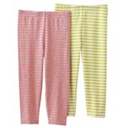 Carter's 2-pk. Striped Leggings - Girls 4-6x