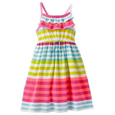 Carter's Striped Knit Dress - Girls 4-6x