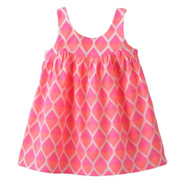 Carter's Diamond Neon Woven Tank - Girls 4-6x