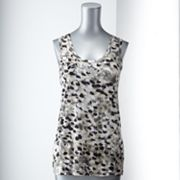Simply Vera Vera Wang Dot Embellished Tank