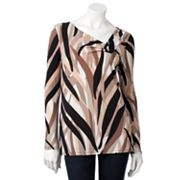 Dana Buchman Line Pleated Top