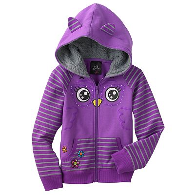 Self Esteem Owl Hoodie - Girls 4-6x