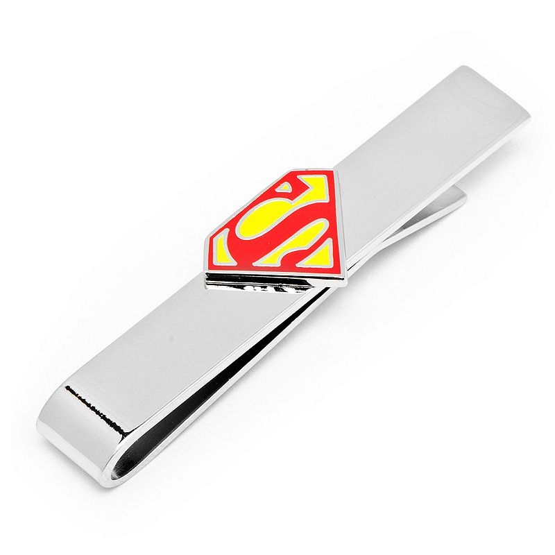 DC Comics Superman Tie Bar, Men's, Silver