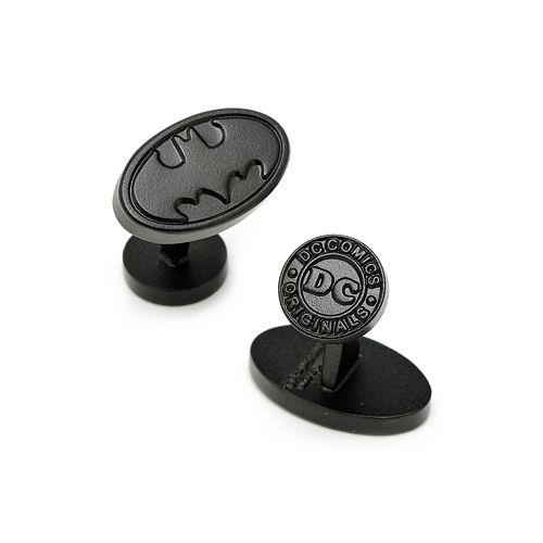 Batman Satin Black Logo Cuff Links