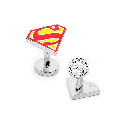 Superman Shield Cuff Links