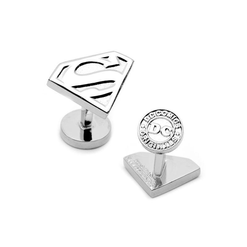 Superman Shield Cuff Links