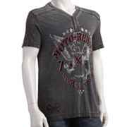 Helix Burnout Henley - Men