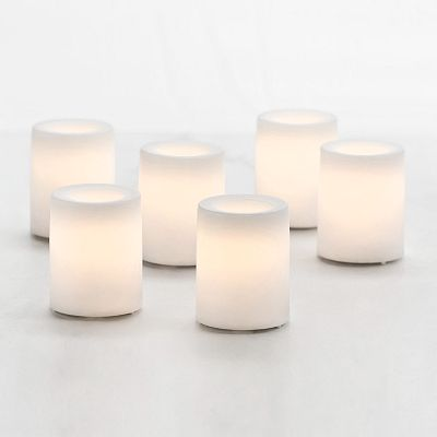Inglow 6-pk. Flameless LED Votive Candles