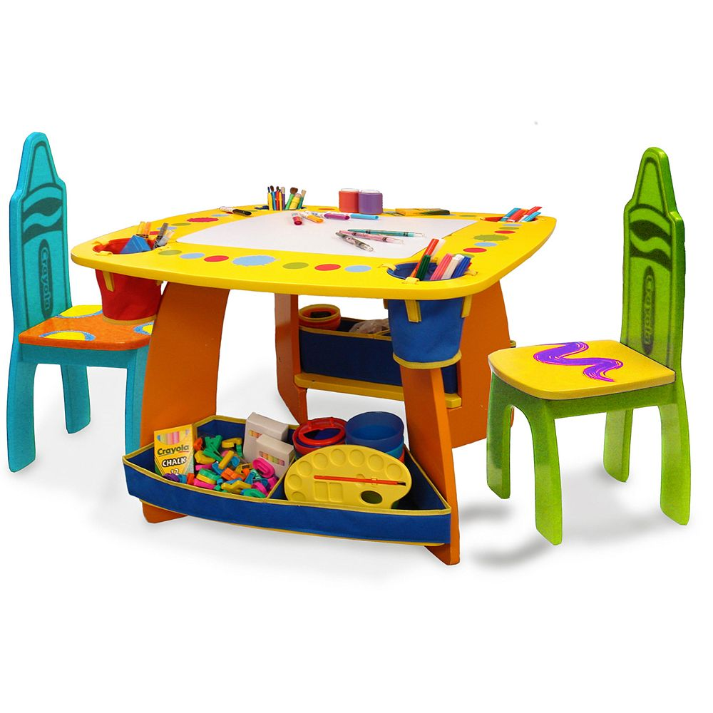 Crayola Wooden Table Chair Set