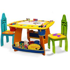 Crayola Wooden Table & Chair Set by