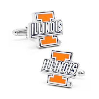 Illinois Fighting Illini Cuff Links