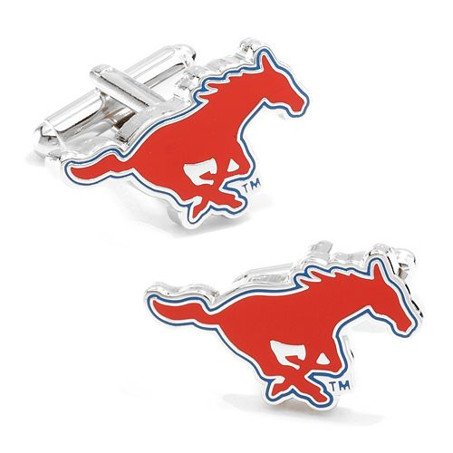 SMU Mustangs Cuff Links