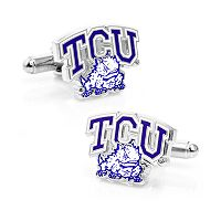 TCU Horned Frogs Cuff Links