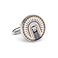 Illinois Fighting Illini Cuff Links