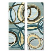 21 Blue Tuesday 2-pc. Wall Art Set