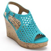Mudd Platform Wedge Sandals - Women