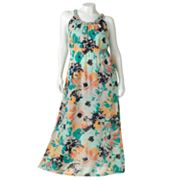 SONOMA life + style Floral Maxi Sundress - Women's Plus