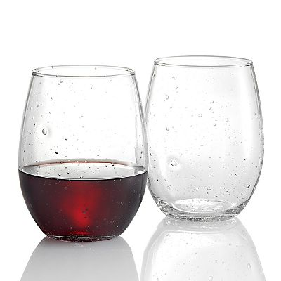 Luminarc Bola 4-pc. Stemless Wine Glass Set