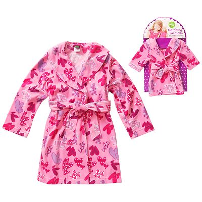 Dollie and Me Heart Robe - Girls
