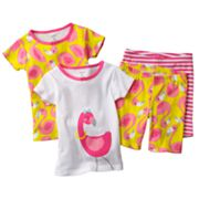Carter's Flamingo Pajama Set - Baby