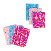 Trend Lab Sweets Flannel Blanket and Burp Cloth Set