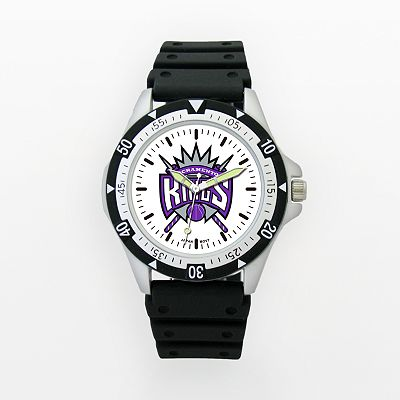 LogoArt Sacramento Kings Silver Tone Resin Watch - KNG135 - Men