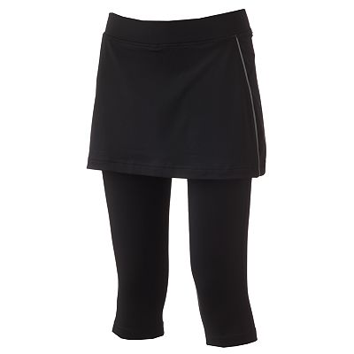 Tek Gear Performance Skirted Capri Leggings