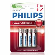Philips 4-pk. AAA Power Alkaline Batteries
