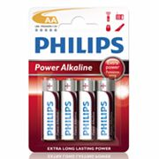 Philips 4-pk. AA Power Alkaline Batteries