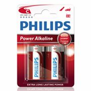 Philips 2-pk. C Power Alkaline Batteries