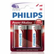 Philips 2-pk. D Power Alkaline Batteries