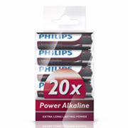 Philips 20-pk. AAA Power Alkaline Batteries