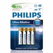 Philips 4-pk. AAA Ultra Alkaline Batteries