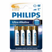 Philips 4-pk. AA Ultra Alkaline Batteries