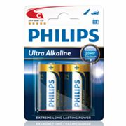 Philips 2-pk. C Ultra Alkaline Batteries