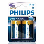 Philips 2-pk. D Ultra Alkaline Batteries