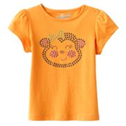 Jumping Beans Bling Monkey Tee - Baby