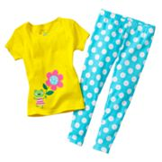 Carter's Frog Polka-Dot Pajama Set - Toddler