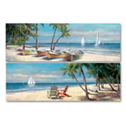 Fair Island 2-pc. Wall Art Set