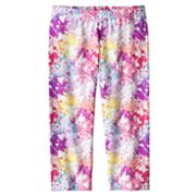 SO Painted Heart Capri Leggings - Girls 7-16