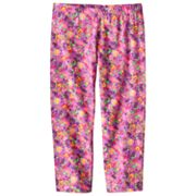 SO Floral Capri Leggings - Girls 7-16