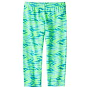 SO Zebra Capri Leggings - Girls 7-16