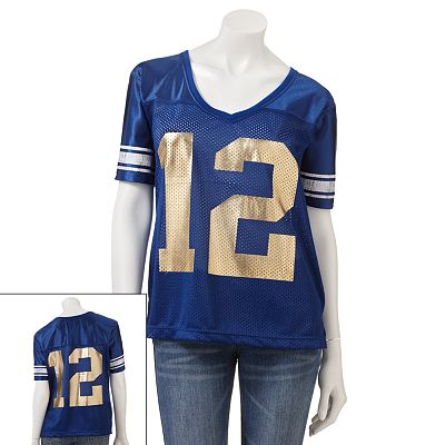 Derek Heart Mesh and Dazzle Jersey - Juniors