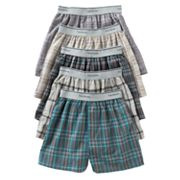 Fruit of the Loom 5-pk. Plaid Boxers - Boys 4-20