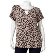 Dana Buchman Embellished Top - Women's Plus
