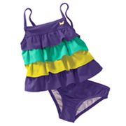 Carter's Ruffle 2-pc. Tankini Swimsuit Set - Toddler