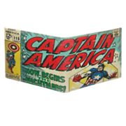 Marvel The Avengers Captain America Leather Slimfold Wallet