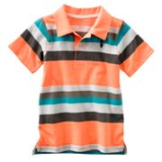 Carter's Striped Surfboard Polo - Boys 4-7