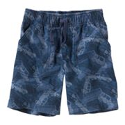 Jumping Beans Automobile Canvas Shorts - Toddler