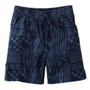 Jumping Beans Printed Canvas Shorts - Toddler